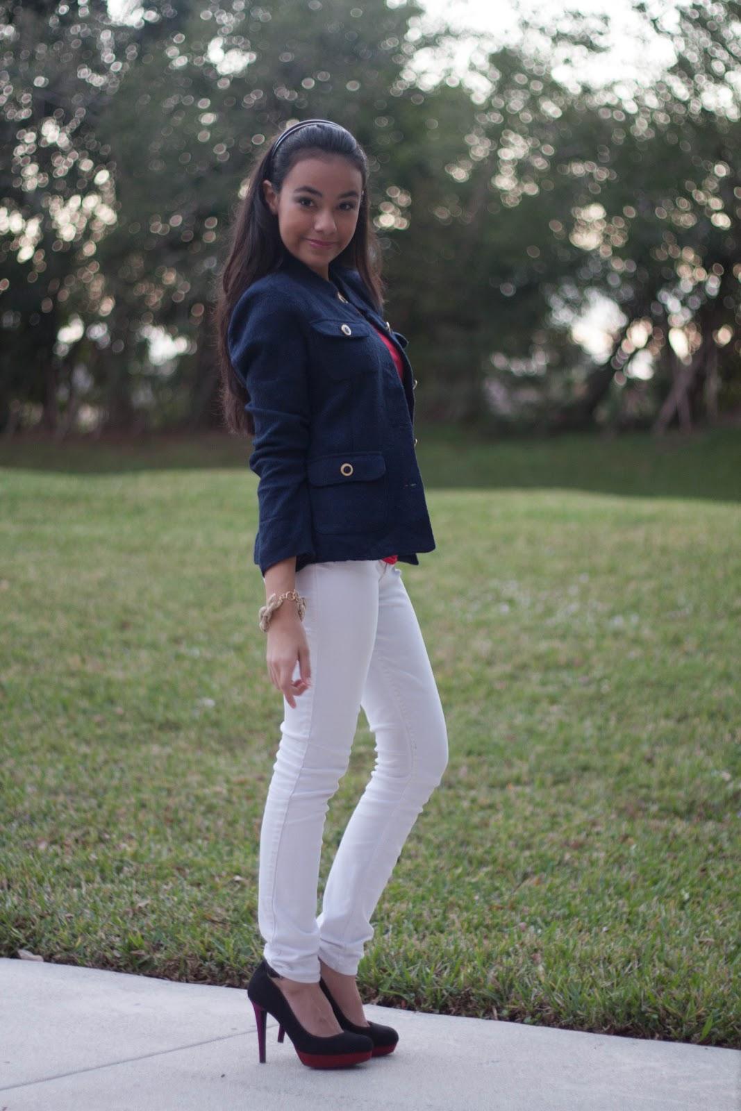 Mature jeans