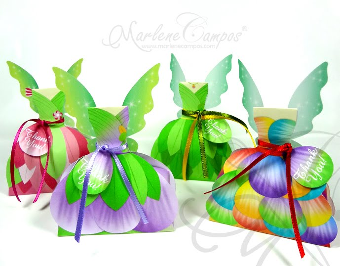 Fairies Dress Boxes