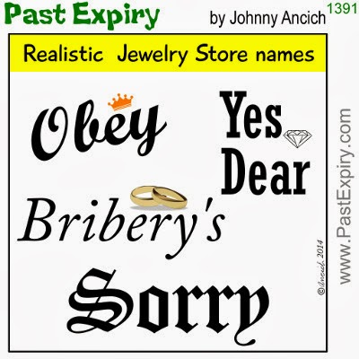 Past Expiry Cartoon More Cartoon Realistic Jewelry Store Names