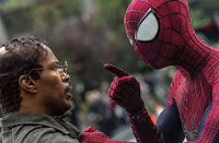 Jamie Foxx Andrew Garfield Amazing Spider-Man 2
