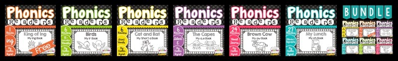 http://www.teacherspayteachers.com/Store/Simply-Second/Category/Phonics-Readers
