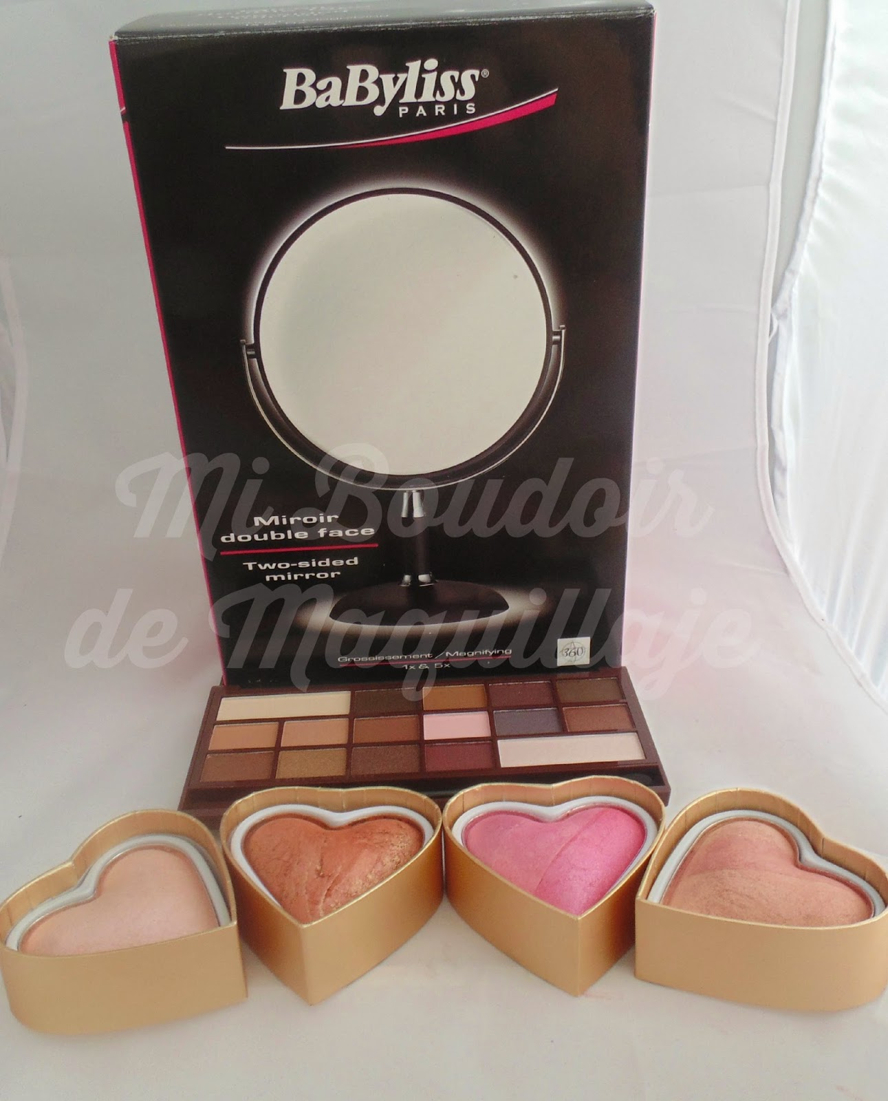 Pedido a Canarias make up