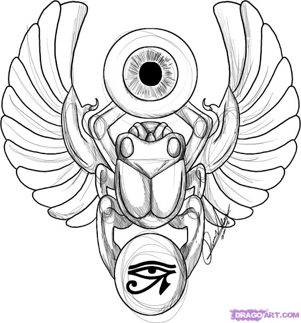 free tattoo designs for men and free tattoos designs for womenEgyptian Symbols Scarab