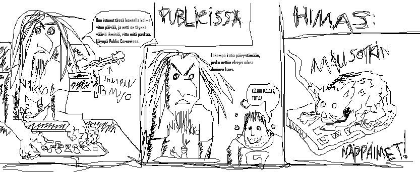 Elämäni sarjakuvina... - Sivu 3 Sarjakuva