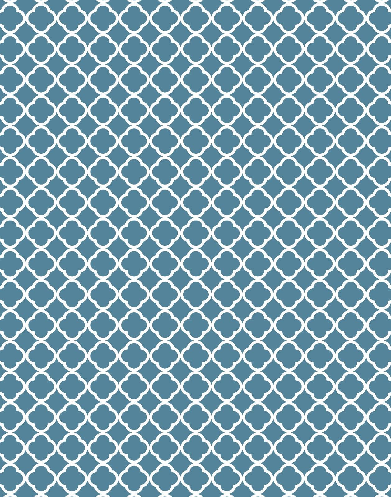 quatrefoil pattern background - photo #11