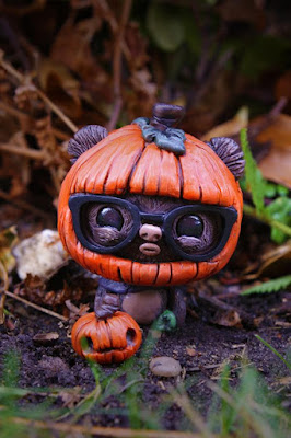"""Trick or Geek"" GeekWok the Ewok Star Wars Resin Figure by UME Toys"