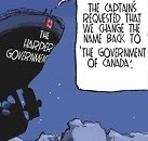 Gable: Change the name back to 'The Government of Canada'.
