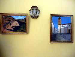 """Pinceladas arquitectónicas"". Sala Averroes"