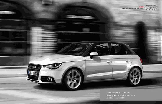 Brinde Gratis Guias da Audi