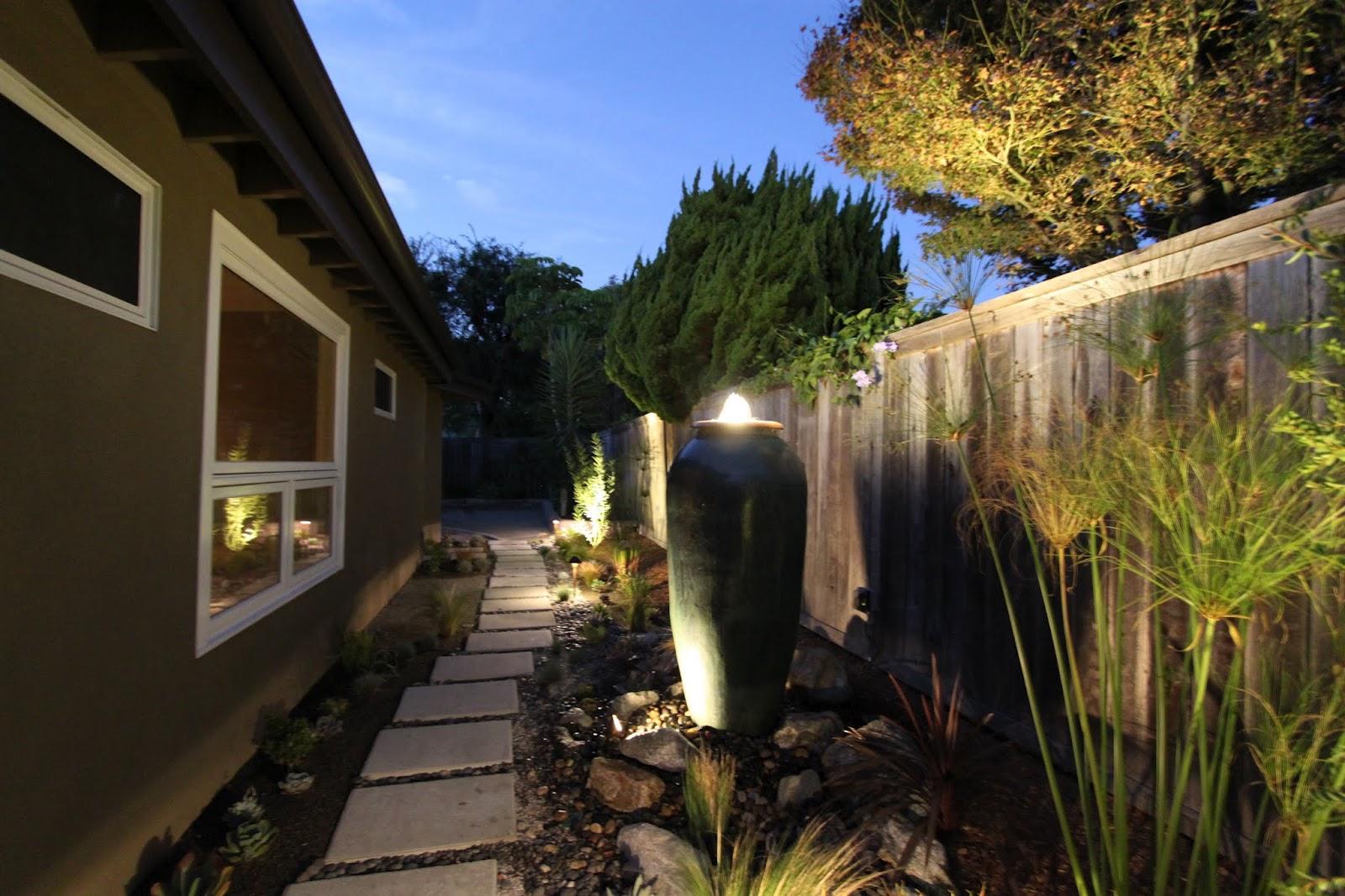 lighting a midcentury modern landscape design  midcentury  - lighting a midcentury modern landscape design