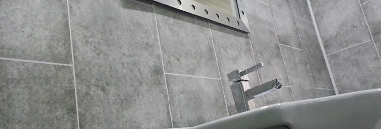 Grey Tile Effect Bathroom Wall Panels Part 64