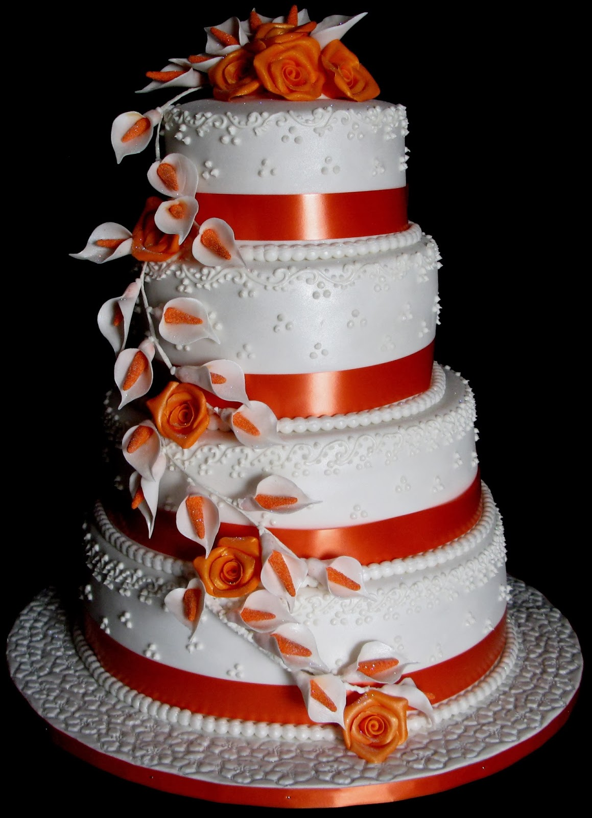 how to make a 4 layer wedding cake