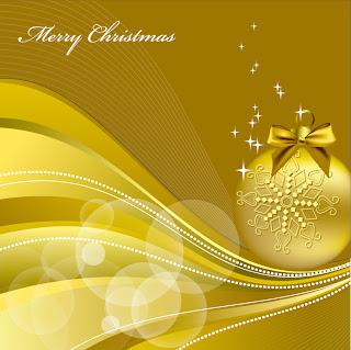 金色に輝くクリスマスの背景 beautiful christmas background vector イラスト素材3