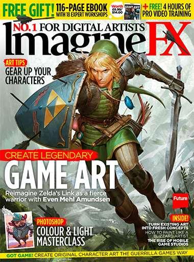 Imagine FX Magazine Issue November 2015