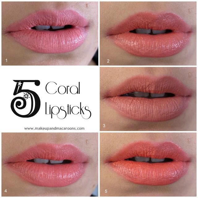 Lip Week - Day 3 Coral