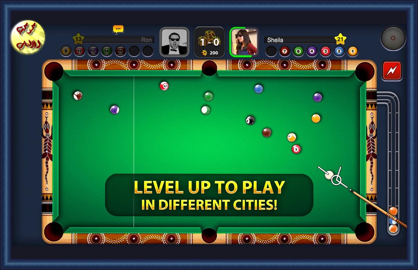 تحميل العاب موبايل 2016 Download 8 Ball Pool 2015 Free games