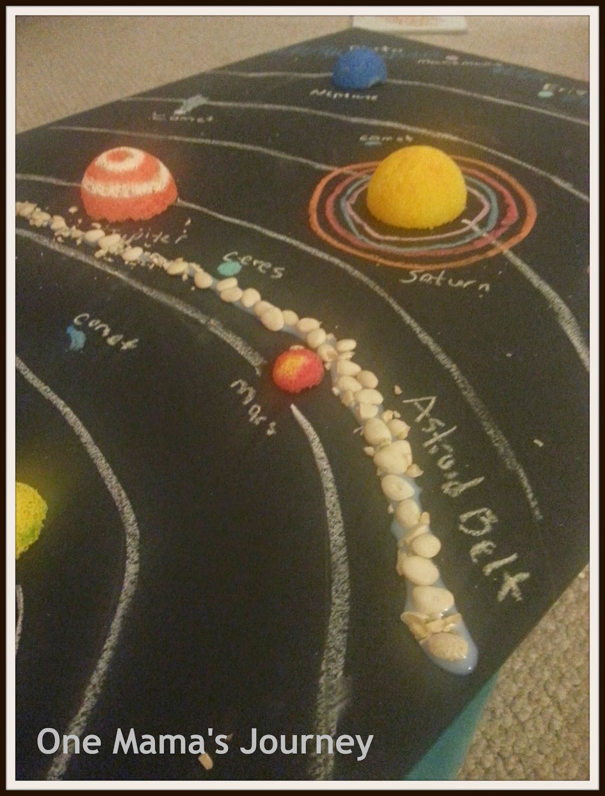solar system with asteroid belt projects - photo #14