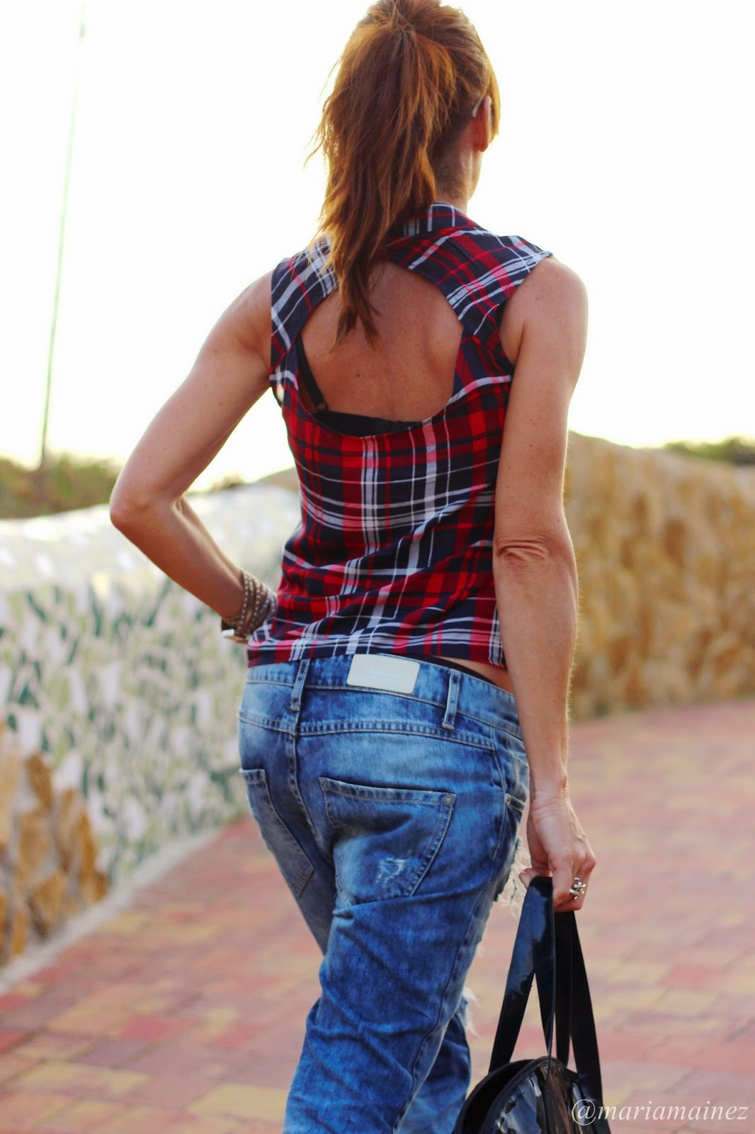 ripped boyfriends - cuadros - streetstyle - blogger