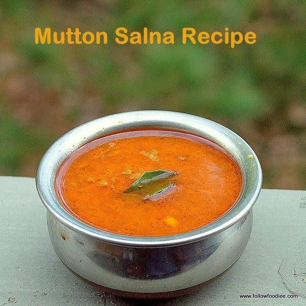 Mutton Salna Recipe , Mutton Kheema Curry