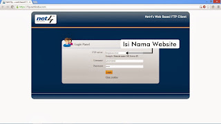 Cara Upload File Website Hosting 1