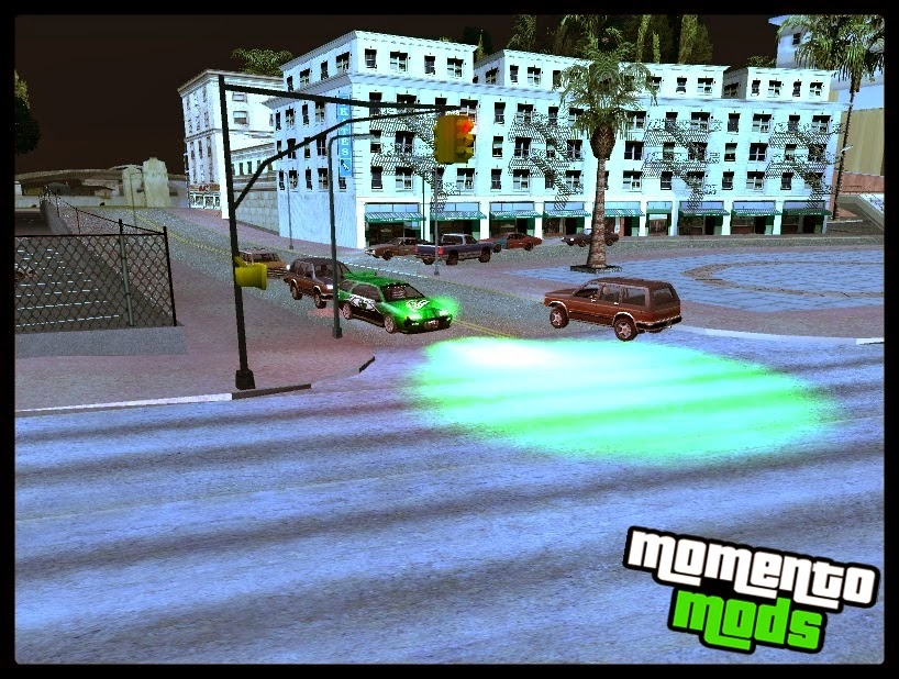 GTA SA - Mod Cleo Xenon V4 (Multicolor/Edit - Carro/Moto)