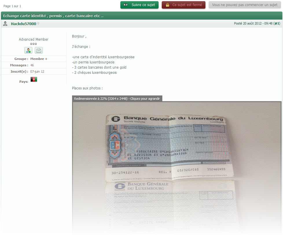 Fake French Administrative Documents  Fake Document Templates