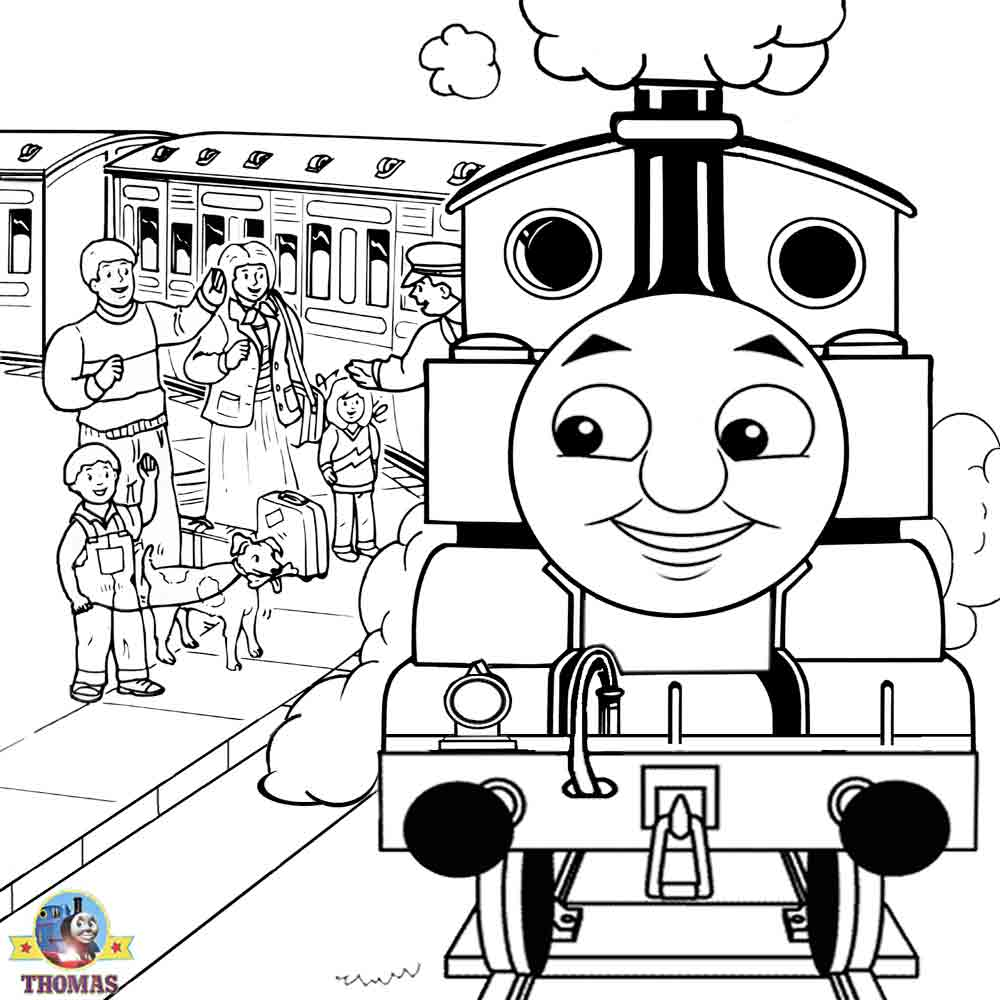 thomas train coloring pages - photo#40