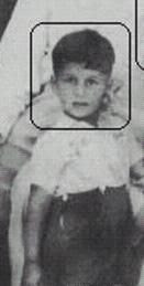 Childhood Picture of Imran Khan