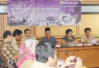 Pemkot Tarakan & Kementrian PU RI, Rancangkan Pembangunan Permukiman dan Infrastruktur Perkotaan