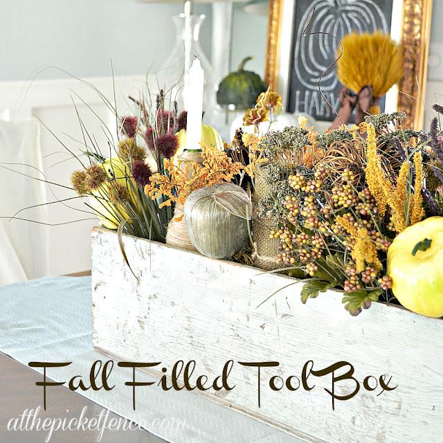 Fall filled tool box