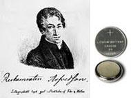 Johan Agustus Arfwedson : Lithium ditemukan pada tahun 1817. Baterai lithium memiliki logam lithium atau senyawa lithium sebagai anoda.
