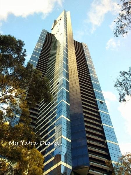 Eureka Sky deck tower, Melbourne Victoria Australia