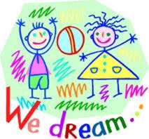 Children use their imaginations and dream of being someone