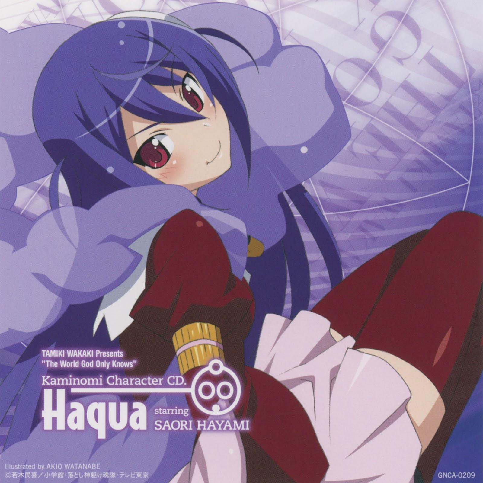 Kami Nomi zo Shiru Sekai II Character CD 00 - Haqua