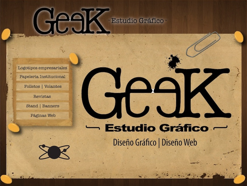 Geek Gráfica | Diseño Gráfico | Diseño Web |