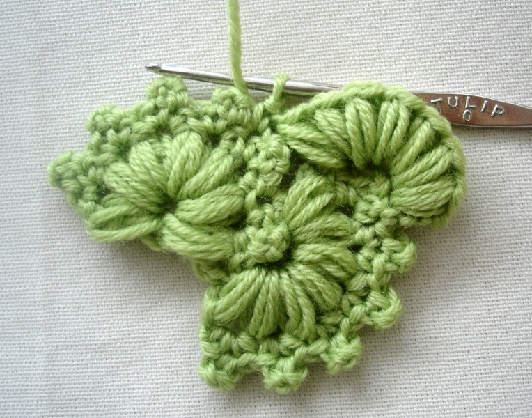 Crocheting In Rows : JosE Crochet: Bloemen op een rij - Flowers in a row
