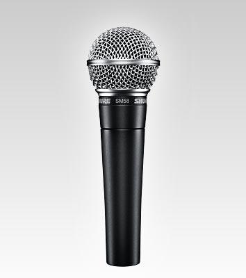Micrófonos. Shure SM-57 y SM-58 ¿Son iguales?