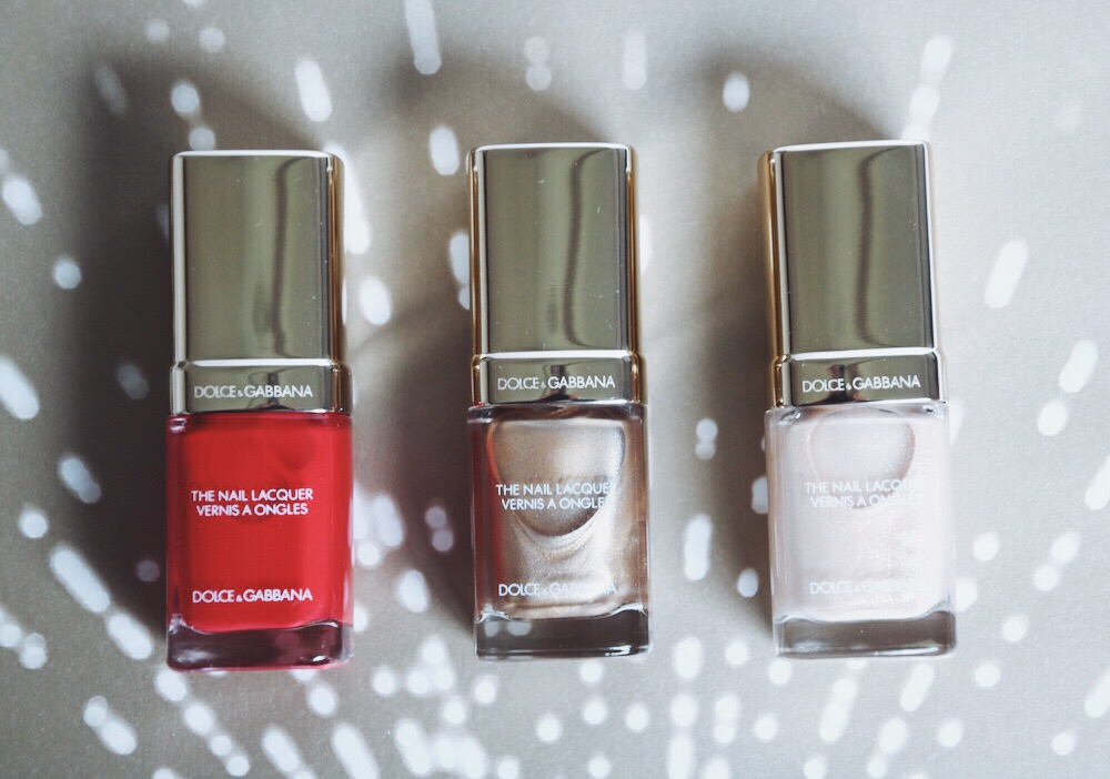 dolce gabbana vernis à ongles collection noel 2014 swatches avis test