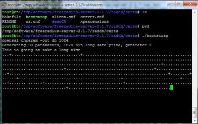 Configure bootstrap
