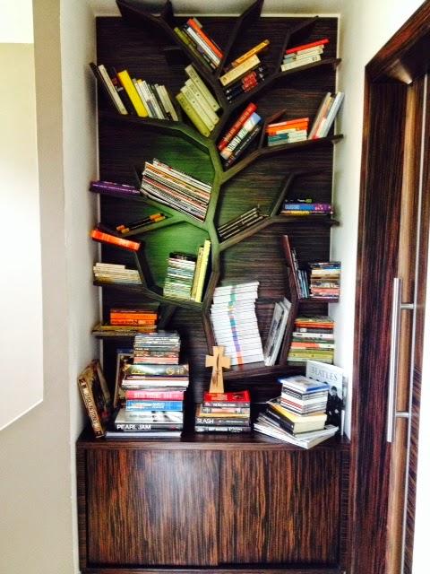 Venta menorca librero cajonera en forma de arbol subida for Librero escalera