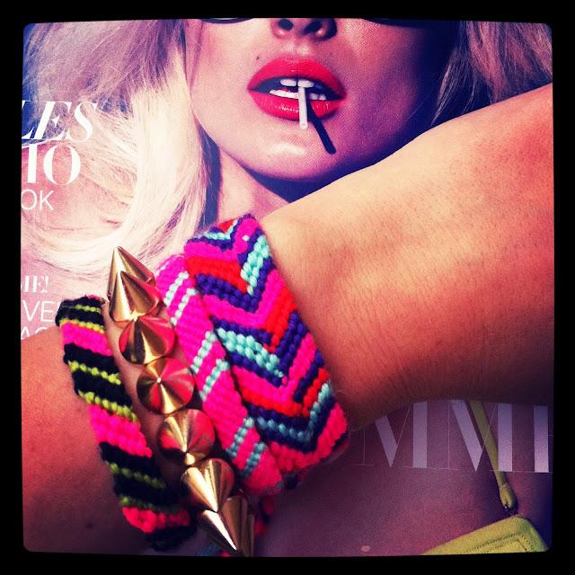 Friendship bracelet, Gina Tricot bracelet