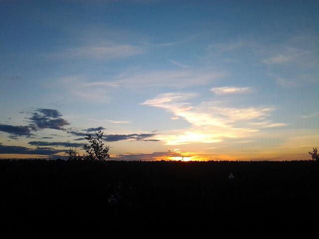 sunset edmonton
