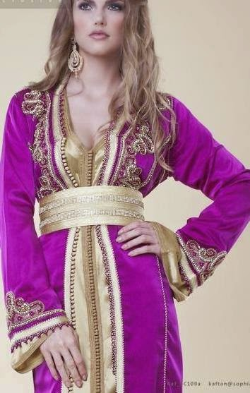 Robe soiree traditionnelle tunisienne