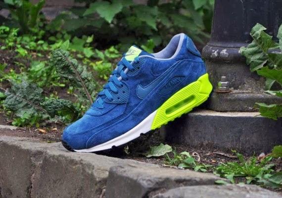 Nike Air Max 90 Premium Blue Suede