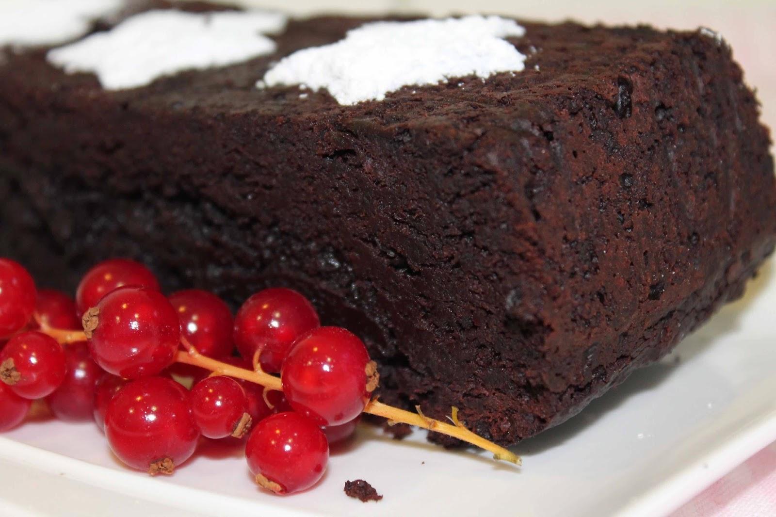 Receta Brownie de remolacha