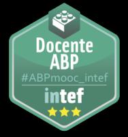 "Emblema ""Docente ABP"" #ABPmooc_intef"