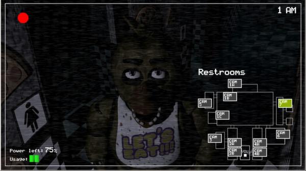 Five Nights at Freddy's HD Wallpaper