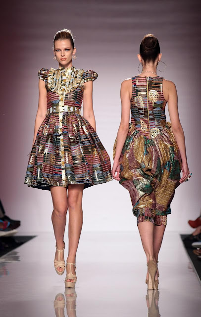 Bang magazine nigerian design label kiki clothing Rome fashion designers