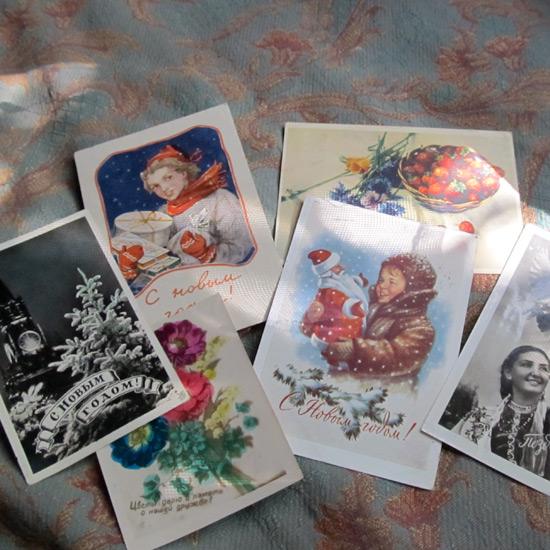 Old postcards, старые открытки