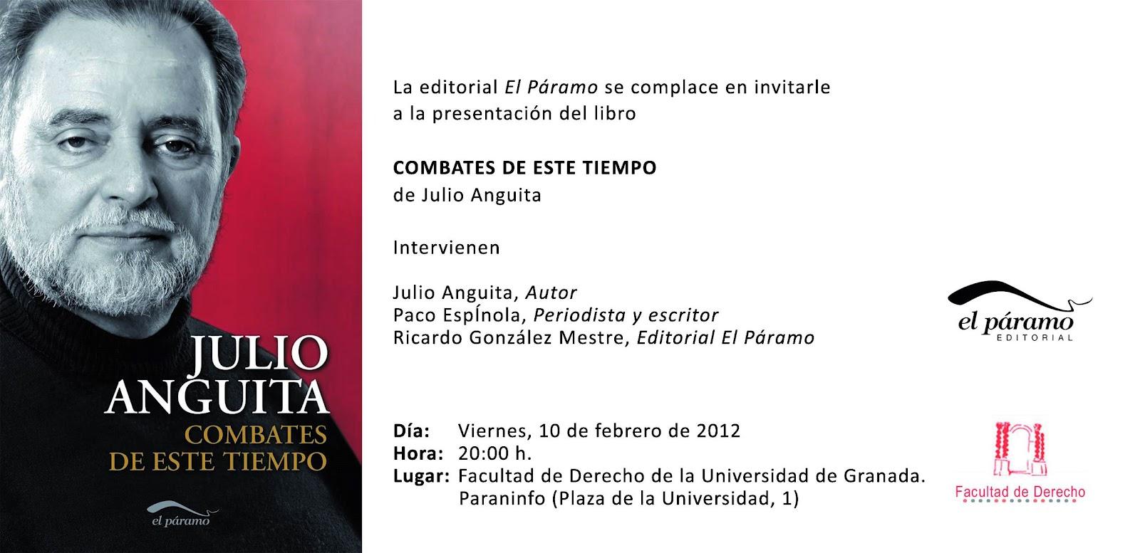 Francisco J. Segovia Ramos: Presentación del libro